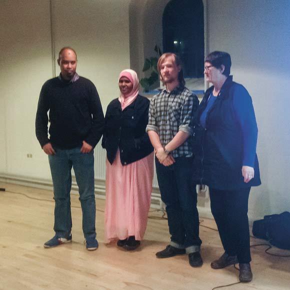 Abdulmalik Farah, Ilham Mohamed, Emil Thaysen og Inga Bech blev valgt til bestyrelsen.