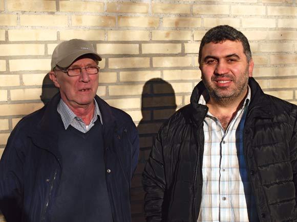 Fungerende formand for Fritidsforeningen Youssef Abdul Kader (th.) og formand for FAS Poul Erik Nielsen spørger, om Fritidsforeningen og FAS har overlevet sig selv.