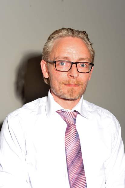 Jesper Fræer fra Skovgårdsparken blev nyvalgt til foreningsbestyrelsen.
