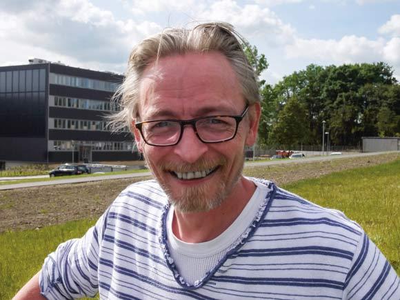 Jesper Fræer fra Skovgårdsparken er nyvalgt medlem af foreningsbestyrelsen.