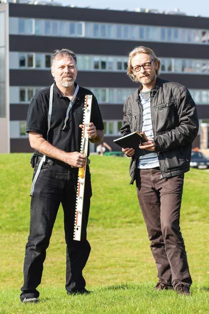 Vagn Eriksen og Jesper Fræer er klar  til at måle op til SLA