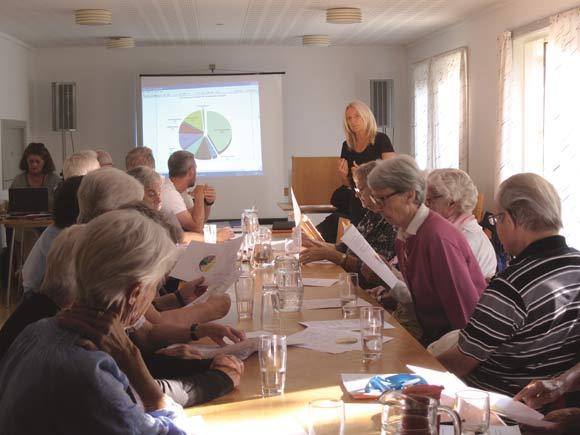 Administrationschef Susanne Witting fremlægger og forklarer regnskabs- og budgettal