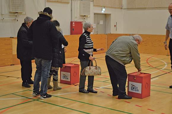 234 stemmer blev afgivet til den første afstemning om ungdomsbyen, som der var klart flertal for.