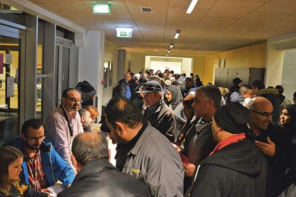 """Mere end 200 beboere deltog i afdelingsmødet 20. november, langt flere end ved """"første halvleg"""", som fandt sted den 29. september."""