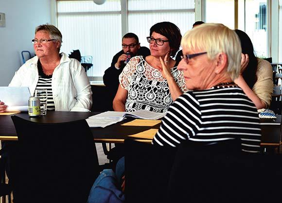 Beboermøderne i Skovhøj er ikke noget tilløbsstykke, og beboerhuset var nærmest halvtomt, da mødet blev holdt i september. I alt 10 lejemål var repræsenteret.