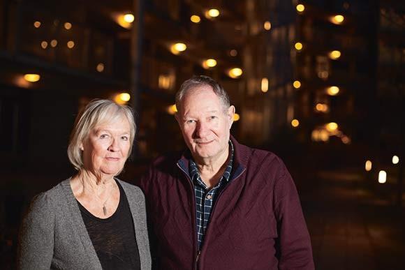 Forsiden: Skræppebladet på besøg i Afdeling 22 - Sonnesgården. Foto: Martin Krabbe.
