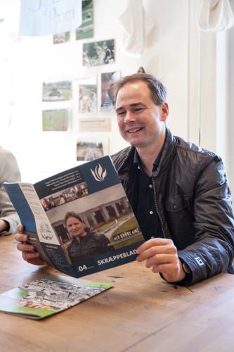 Nicolai Wammen læser Skræppebladet