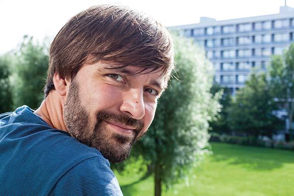 Jens Joel er beboer i Gellerupparken og nyvalgt til BB's bestyrelse.