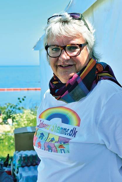 Randi Smitsdorf er afdelingsformand  i Langkærparken i Tilst.