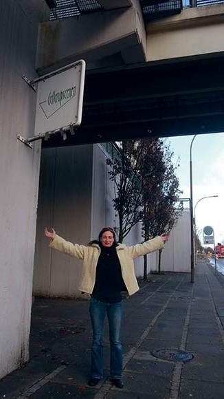Gitte Christensen er klar til at byde indenfor på A-toget