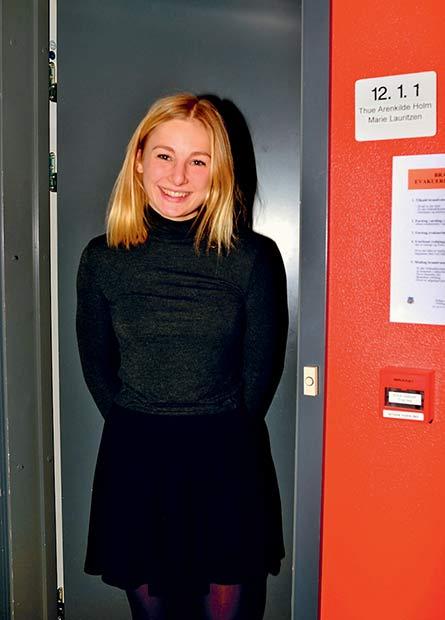 Marie ville gerne blive boende,  men skal læse videre i København.