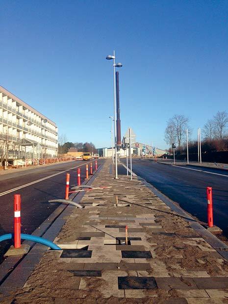 Den nordligeste del af bygaden lægger 18. marts asfalt til en stor gadefest.