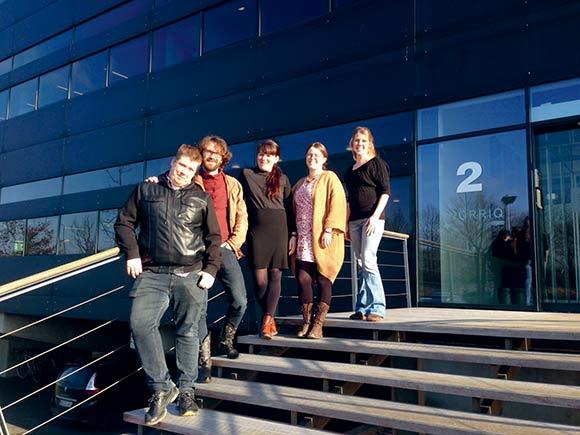 Daniel, Peter, Mette, Mette Maria og Alice har fået indblik i – og givet input til – boligforeningen.