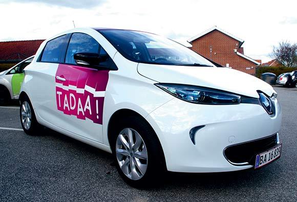 Sådan ser de ud, el-bilerne fra TADAA!
