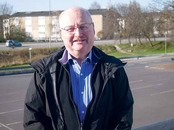 Jesper Pedersen har håb om at udføre renovering og modernisering af afdelingerne.