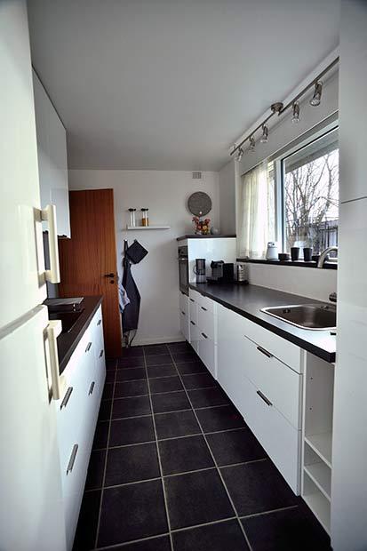 Beboerne har selv fået lavet nye køkkener over råderetten.