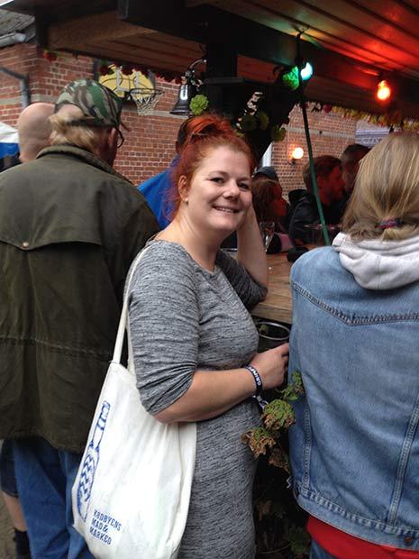 Linda tog virkelig festivalen til sig, selvom hun normalt hader festivaler.