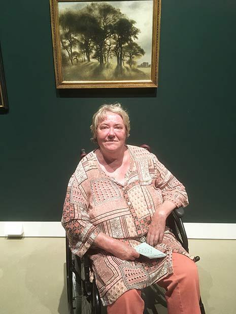 Merete var meget politisk aktiv, men droslede dog lidt ned, da hun blev syg.