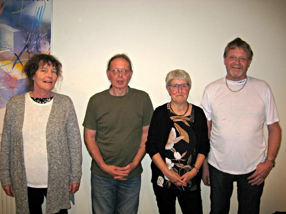 Lise Ledet, Esben Trige, Linda Adamsen og Kurt Bech Hansen er nu i bestyrelsen. Der er plads til flere.
