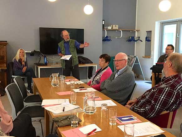 Foreningens formand, Keld Albrechtsen, fortæller om de mange udfordringer, der ligger i fremtidens almene boligsektor.