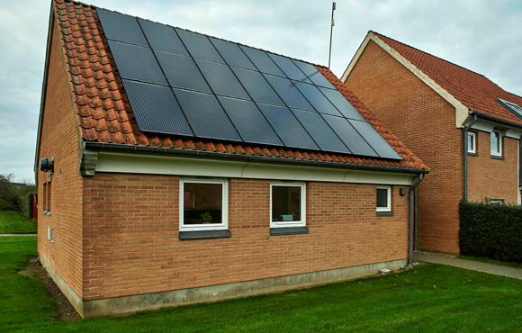 Vaskeriet har efter opsætning af solceller, vendt et stort underskud til et overskud.