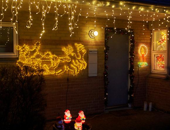 Winnie Sehested er juletosset, og hendes julelys lyser hele vejen op.