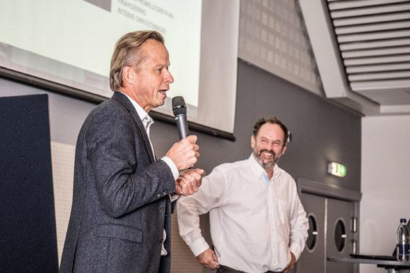 Direktør Keld Laursen fortalte om samarbejde med privat bygherre på Trøjborg.