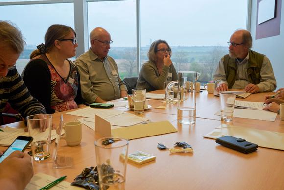 Repræsentantskabet holdt i november arbejdsdag på Koldkærgård.