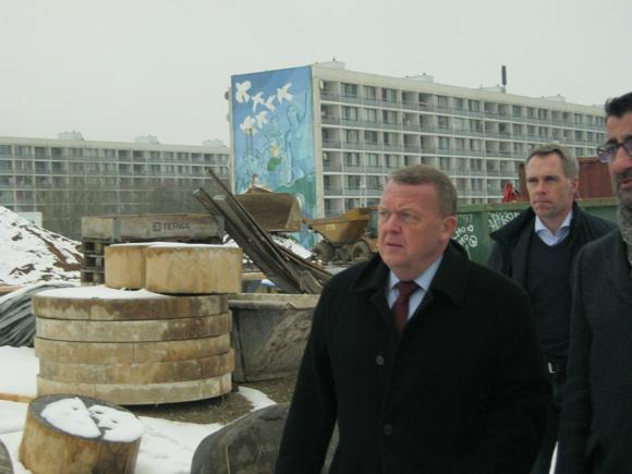 Statsministeren så helhedsplanens byggerod.