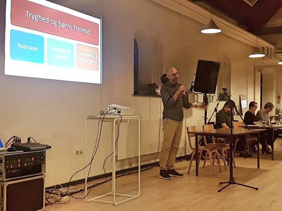 Boligsocial leder Jesper Kurdahl fik godkendt den boligsociale helhedsplan på mødet.