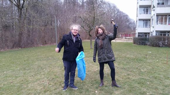 Første spadestik blev taget til det nye havefællesskab i Søvangen
