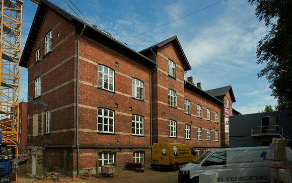 Det gamle garnisonssygehus skal rumme 22 boliger.