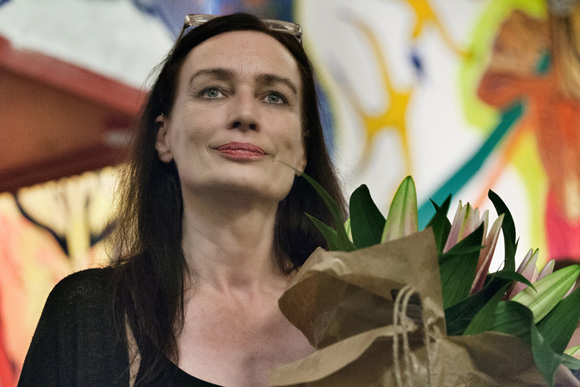 Brigitte Christensen er glad for den store opbakning fra lokalsamfundet.