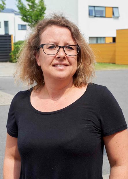 Christina Madsen vil kæmpe for mere bæredygtige løsninger.