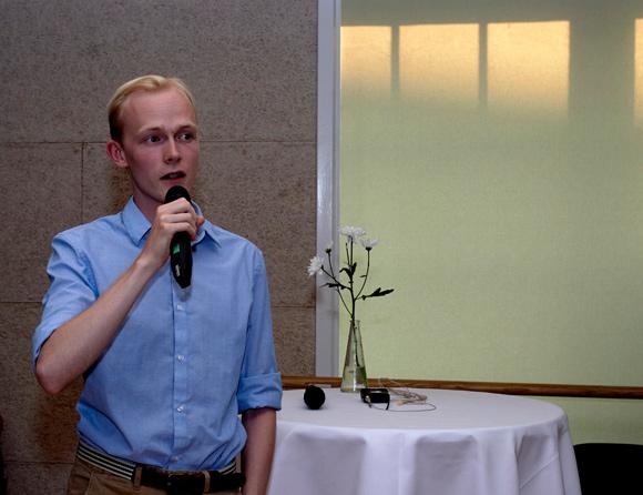 Mathias Ottesen vil være ungdommens repræsentant i foreningsbestyrelsen.