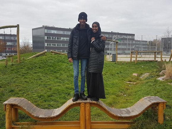 Abukar og Suweyda har store ambitioner.