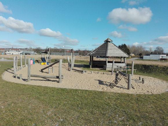 Beboerne besluttede at bygge videre på legepladsen.