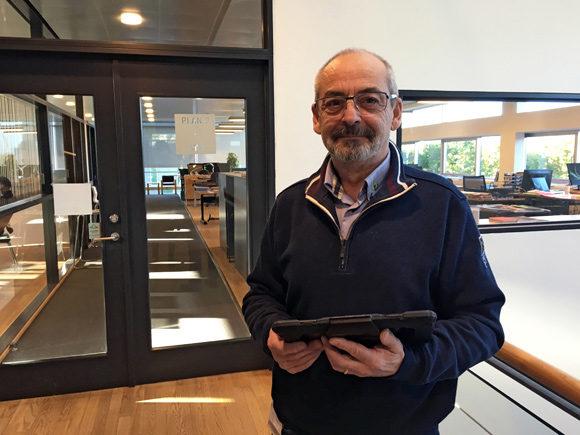 Synsmedarbejder Robert Sørensen