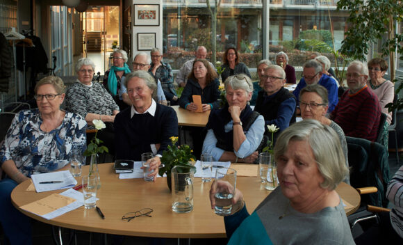 God stemning til afdelingsmøde i Sonnesgården.