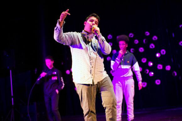 De unge fra Rap Akademiet gav den gas.