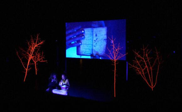 Performancekunst fra Jupiter Gellerup.