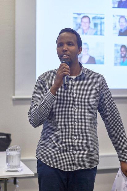 Abdinasir Jama Mohamed opfordrede til sammenhold.