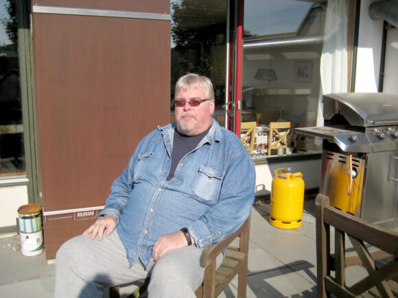 Simon Holse har kæmpet for Værestedets overlevelse