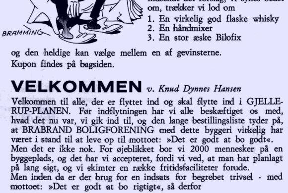 Fra det første Skræppeblad i 1970, forsiden