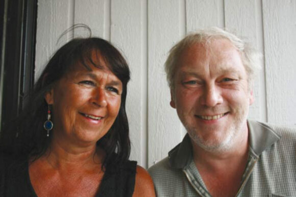 Beboerrådgiverne Abelone Asingh og Jens Høgh