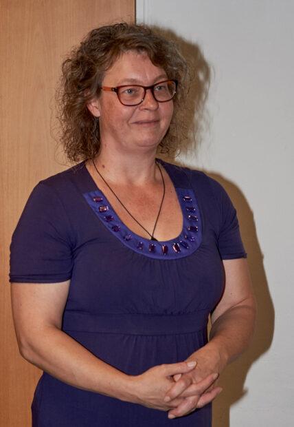Formand Anja Spalding holdt en god beretning i en positiv tone.