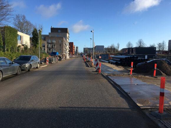Der mangler også cykelstier på Lottesvej.