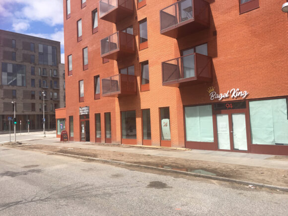 Helhedsplanens visioner om erhverv i Gellerup er ved at blive en realitet i det nye Zebra House på Inger Christensens Gade.