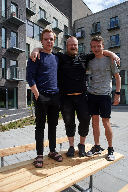 Forsiden:  Skræppebladet har besøgt Aarhus Kollegiet og talt med Theis Weinreich, Philip Aagaard og Lars Hansen fra den nye afdelingsbestyrelse. Foto Bo Sigismund