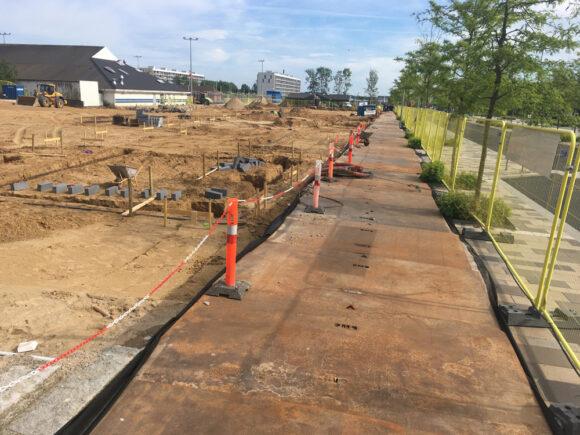 Fundamentet er støbt, og byggeriet af beboerhuset er snart på vej op af jorden.